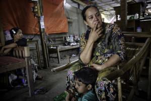 Myint Kyunds äldsta son brändes ihjäl i en attack mot muslimer i mars 2013 i staden Meiktila i centrala Myanmar.