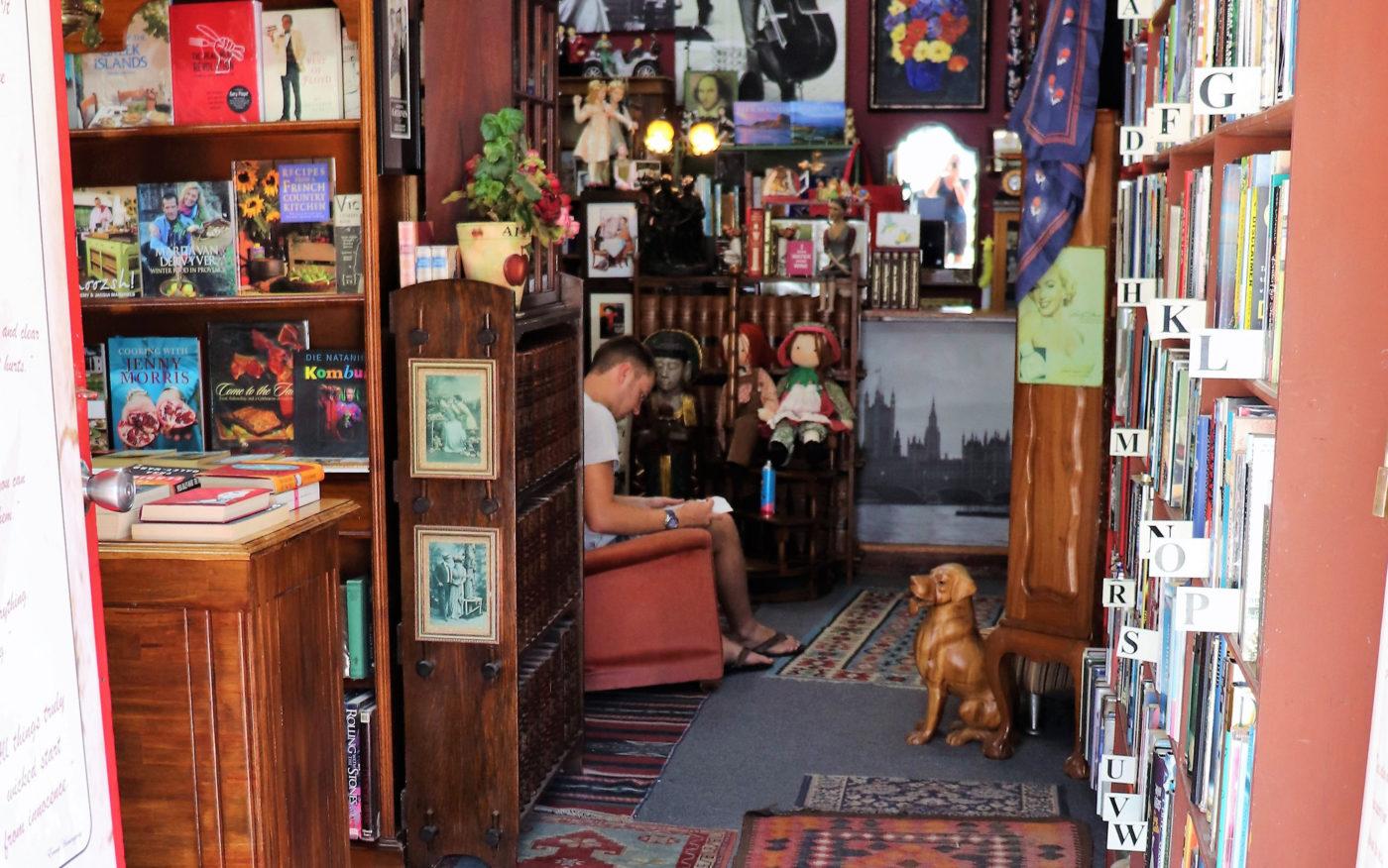 Hemingay's-kirjakauppa Etelä-Afrikassa