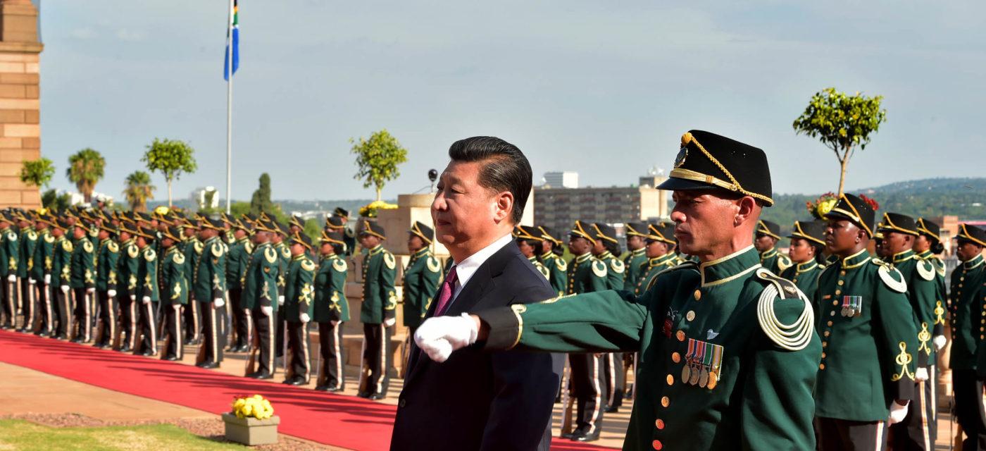 Xi Jinping Etelä-Afrikassa