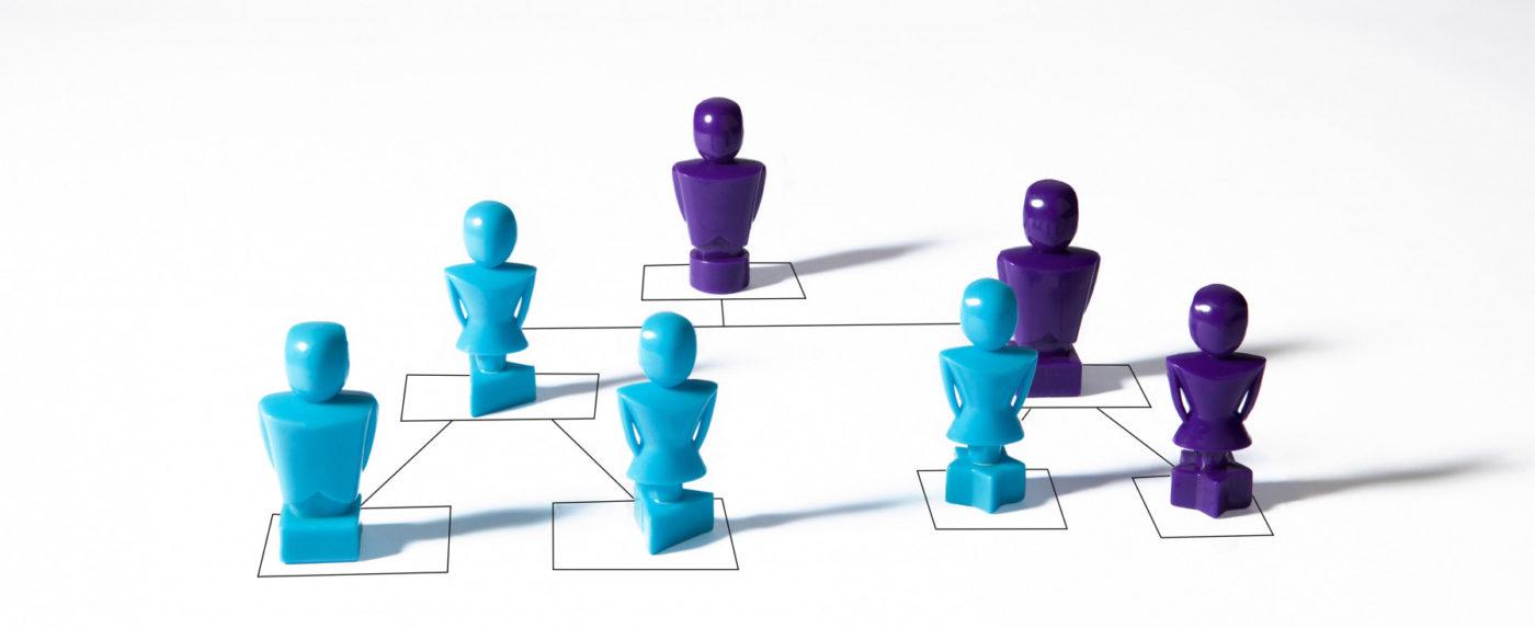 Kuvituskuva hierarkiasta